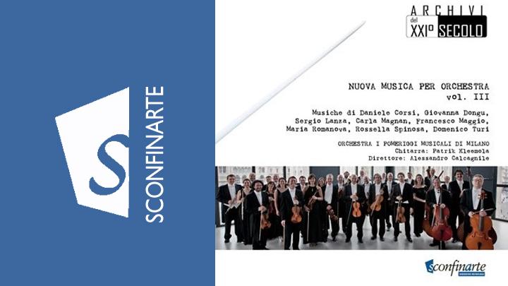 NUOVA MUSICA PER ORCHESTRA VOL. III – Orchestra I Pomeriggi Musicali