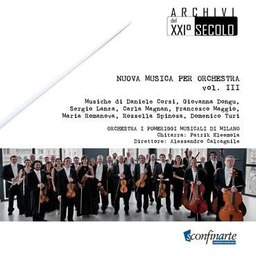 NUOVA MUSICA PER ORCHESTRA VOL. III