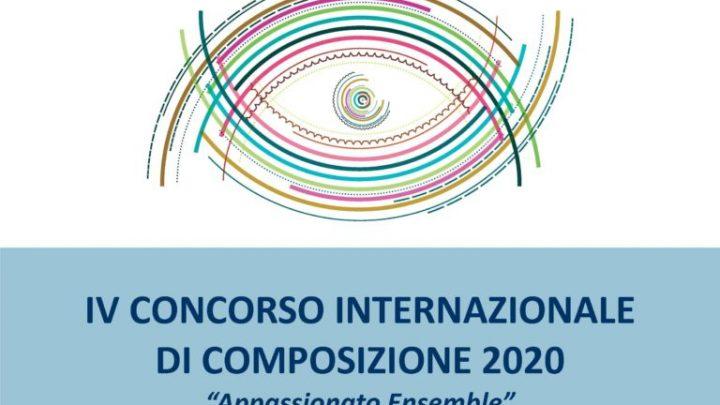 """IV Concorso Internazionale di Composizione """"Appassionato Ensemble"""" 2020"""